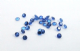 2.5mm Round Lab Created Blue Spinel (pk of 10)